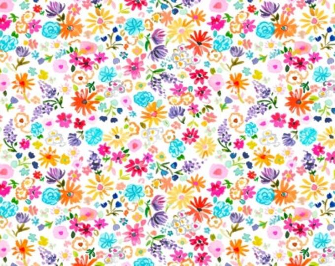 Dear Stella - Spring Theory - White Spring Fling   -  ST-DAW1093 Cotton Woven Fabrics
