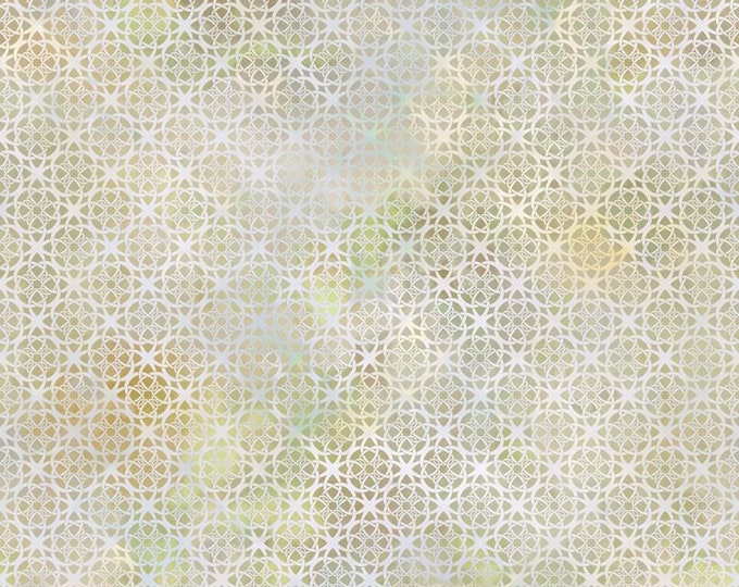 Diaphanous - Cream - Cotton Woven Fabric by Jason Yenter for In the Beginning Fabrics 7ENC-5