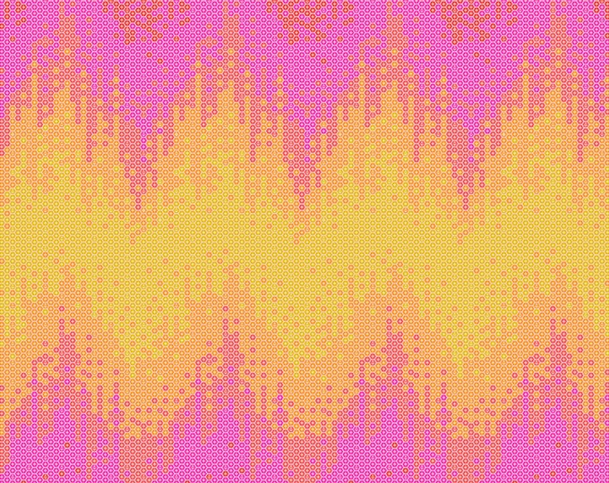 Tula Pink - Zuma - High Tide - Glowfish    PWTP124-GLOW Cotton Woven Fabric