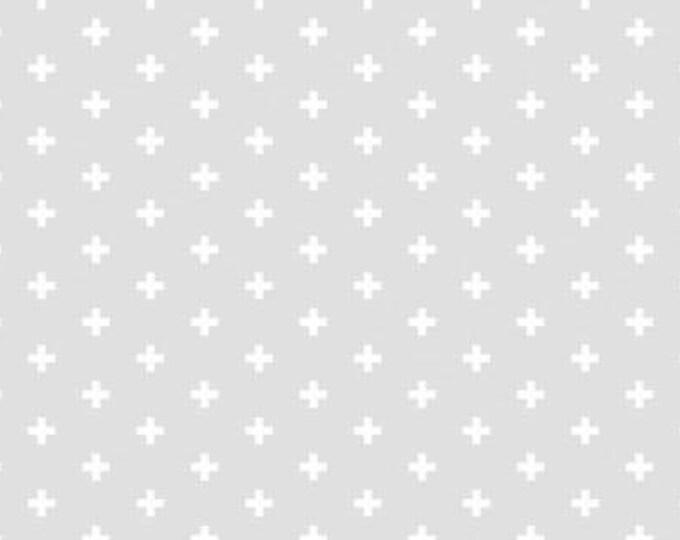 Dear Stella Positive Smoke Light Gray Cotton Woven