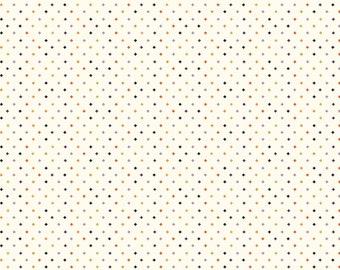 Riley Blake - Fab-Boo-Lous Witches by Dani Mogstad - Diamonds Cream #C8176R-CREAM Cotton Woven Fabric