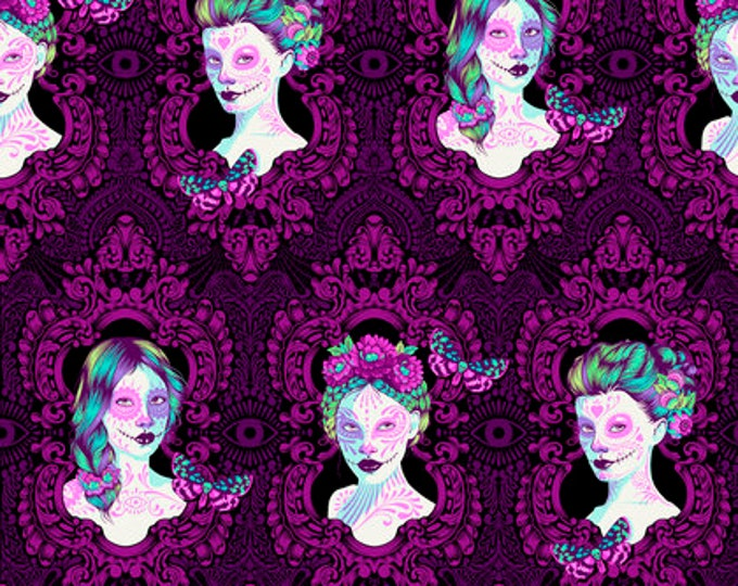 Tula Pink - De La Luna -  Possessed Clairvoyant Cotton Woven Fabric - 1 yard listing