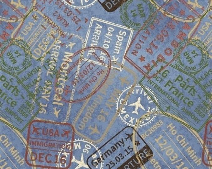 Windham Fabrics - Passports -  506901-1 Cotton Woven Fabric