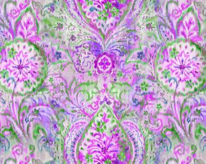 Wilmington Fabrics - Danhui Nai - Bohemian Dreams - Boho Paisley - Purple    89190-167 Cotton Woven Fabric