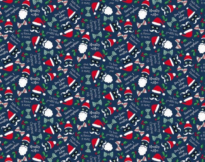 Northcott Fabrics - Fa La La Dear Santa 22216-49 - Cotton Woven Fabric
