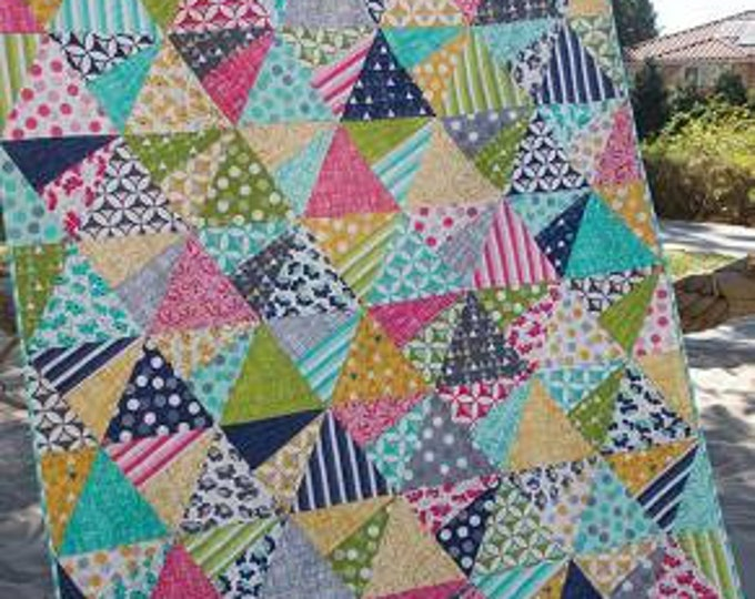 Pattern - Jaybird Quilts - Stereo Quilt Pattern