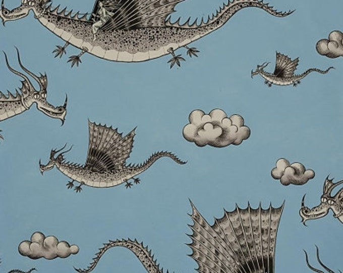 Alexander Henry- In the Clouds - Blue - Cotton Woven Fabric