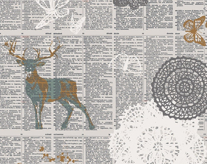 Art Gallery Fabric - Sparkler Fusion - Doiland Gloss - Cotton Woven