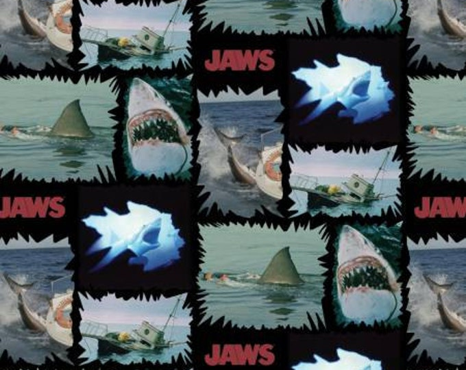 Springs Creative - Jaws Torn Patches cotton woven fabric