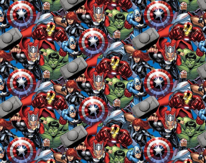 Springs Creative Marvel Avengers Packed Cotton Woven