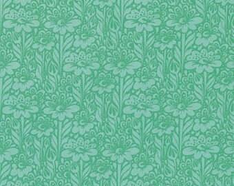 Tula Pink -  Daisy Buds Grass cotton woven fabric by Free Spirit