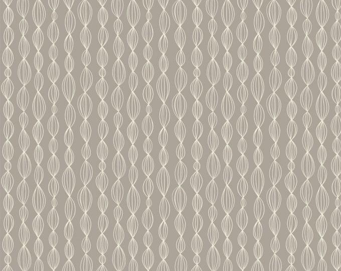 Camelot Fabrics - Petal Pushers by Elizabeth Silver - Gray Geo   #27180204-1 Cotton Woven Fabric