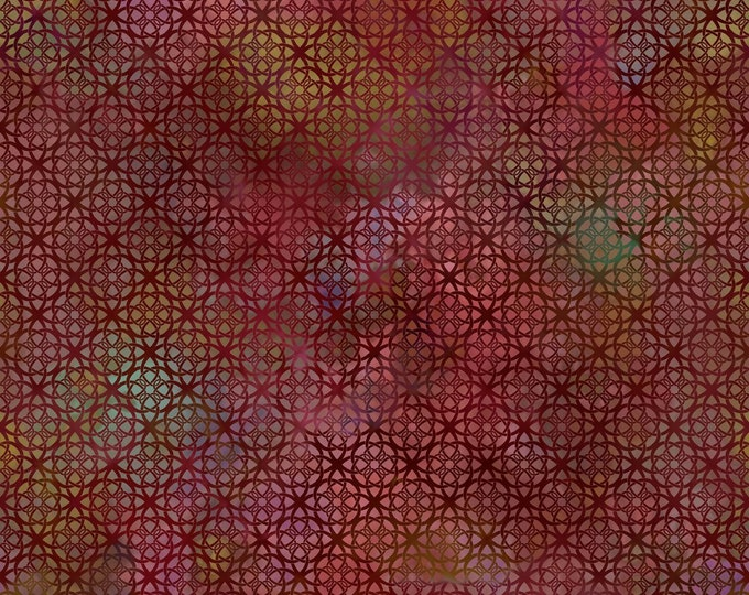 Diaphanous - Brown - Cotton Woven Fabric by Jason Yenter for In the Beginning Fabrics 7ENC-1