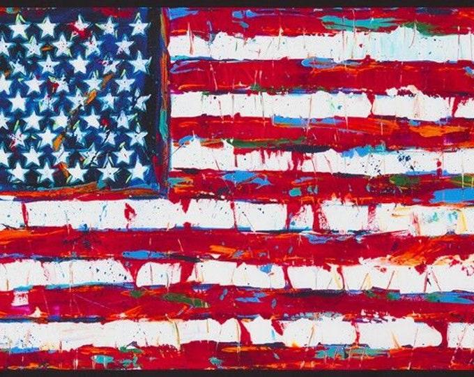 "Robert Kaufman - Patriots - 24"" Panel Americana AWUD-18411-202 Cotton Woven Fabrics"