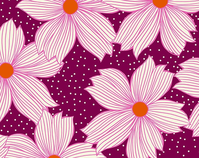 Moda Fabrics - Crescent by Sarah Watts of Ruby Star Society - Purple Velvet RS2004 15 - Cotton Woven Fabric