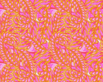 Tula Pink - Zuma - Stingray - Glowfish    PWTP123-GLOW Cotton Woven Fabric