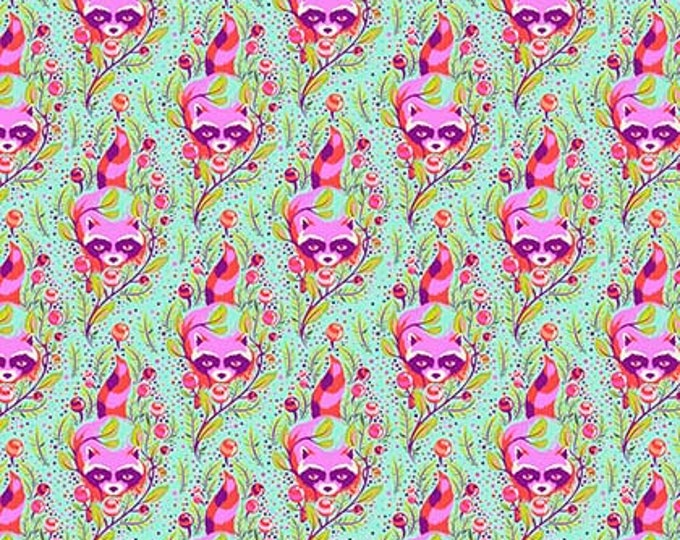 Tula Pink -  All Stars -  Poppy Raccoon Cotton Woven Fabric