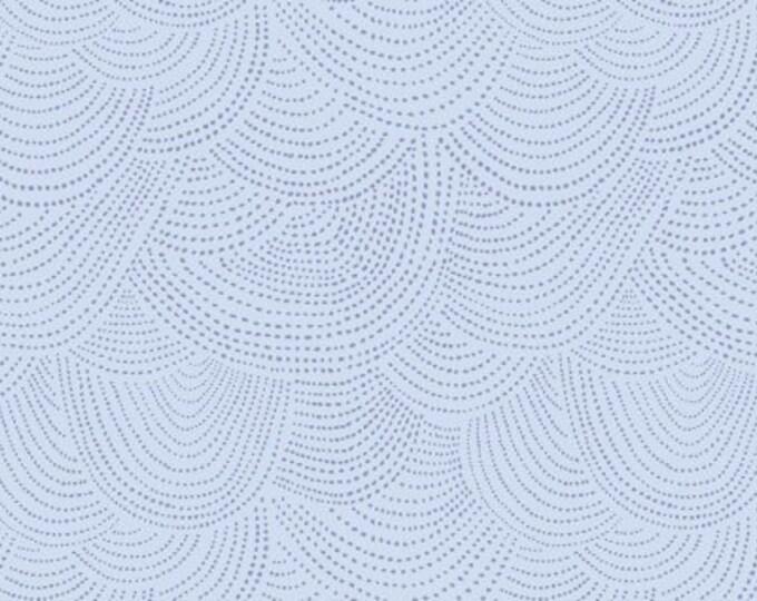 The Big Freeze - Scallop Dot  - Azure - Cotton Woven Fabric - Dear Stella-SRR512