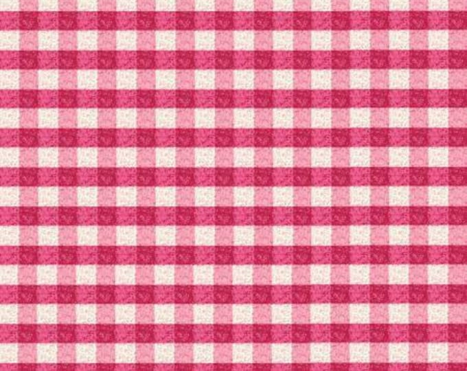 Puddle Jumpers Red Gingham Cotton Woven, by Kathy Brown