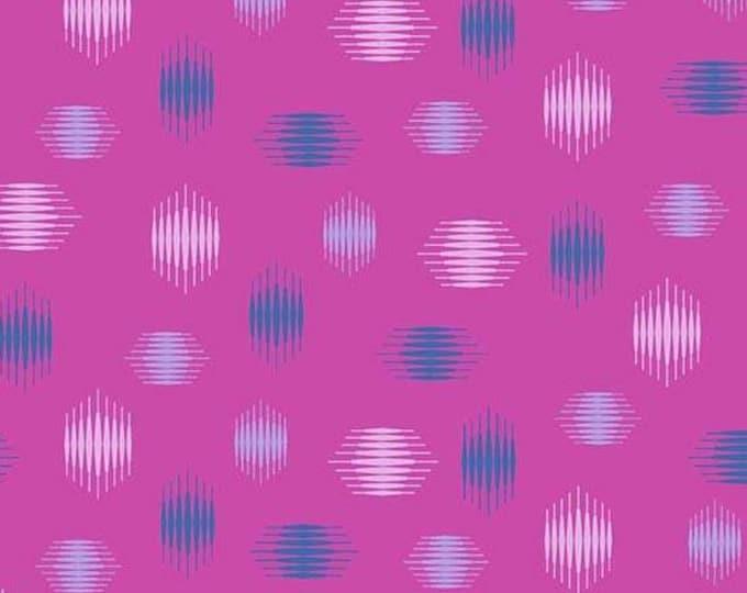 Andover Fabrics - Tattooed by Libs Elliott -  Purple Highline  A-8439-P Cotton Woven Fabric
