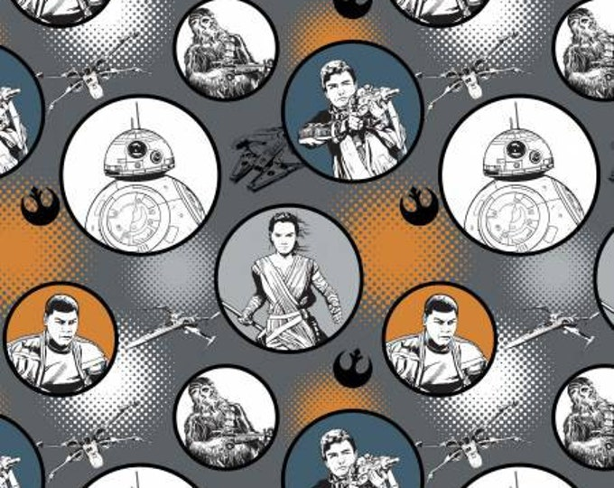 Iron Star Wars, The Force Awakens Badges Cotton Woven