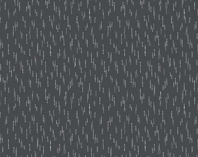 Camelot Fabrics - Petal Pushers by Elizabeth Silver - Charcoal Arrows   #27180205-2 Cotton Woven Fabric