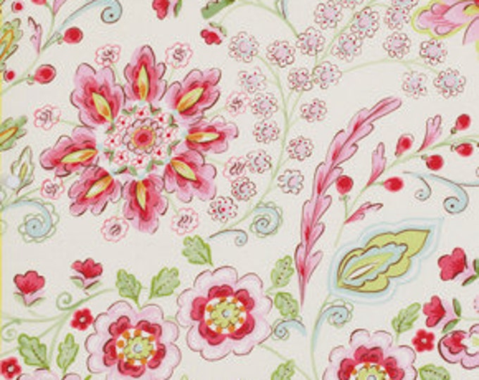 Emma Floral Cream, Pretty Little Things by Dena Designs, Free Spirit Cotton Woven