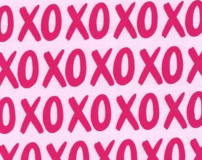 Michael Miller - Glam Girls - XOXO - Love - Cotton Woven Fabric