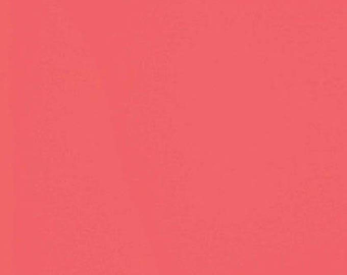 Designer Essential Solid Flamingo Cotton Woven by Free Spirit
