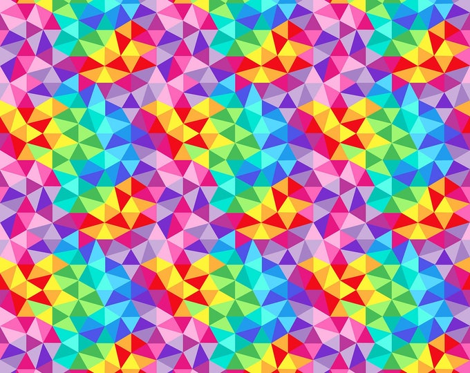 Northcott Fabrics - ZooMetrix by Deborah Edwards - Allover Geo  22413-10 Cotton Woven Fabric
