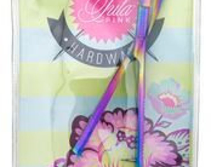 """Notion - Tula Pink Hardware 5"""" Curved EZ Snip TP738CPT"""