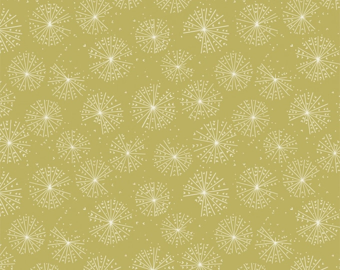Celery Blooms Cotton Woven Fabric #27180202-3 27180202-3 - Petal Pushers by Elizabeth Silver for Camelot Fabrics