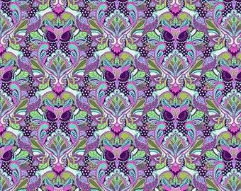 Tula Pink -  All Stars -  Petunia Owls Cotton Woven Fabric