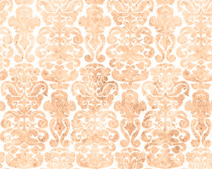 Quilting Treasures - My Story Licensed Santoro - Light Tan Brocade 27144-A - Cotton Woven Fabric