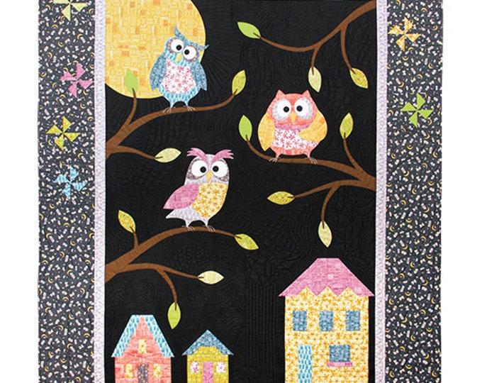 Quilt Kit - Windham - Whoos Hoo - Owlbert and Friends Quilt Kit by Terri Degenkolb