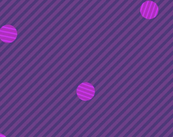 Libs Elliott - Mix Tape - Satisfaction - Deep Purple - Cotton Woven Fabric - Andover Fabrics - A8868P