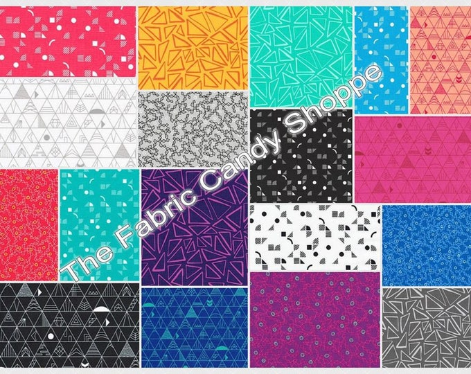 Robert Kaufman - Panache by Rebecca Bryan 5 Inch Charm Pack Cotton Woven Fabric