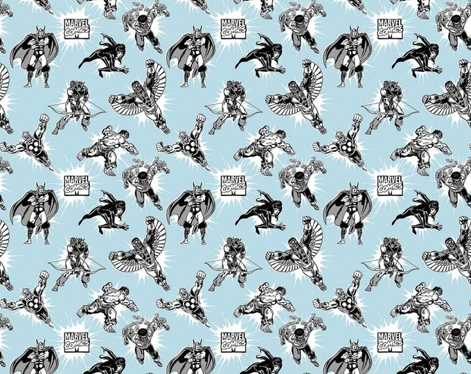 Springs Creative - Marvel Power Up # 672609130715 Licensed Cotton Woven Fabric