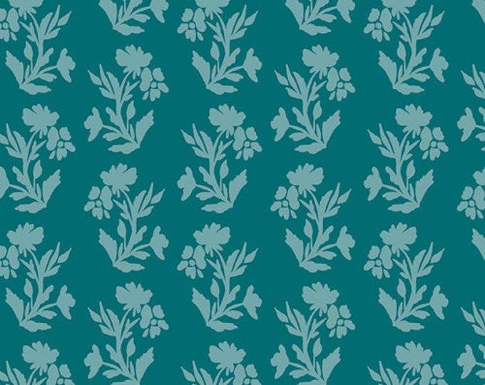 Art Gallery Fabric - Virtuosa - Fresco Plots Fiori - Cotton Woven Fabric