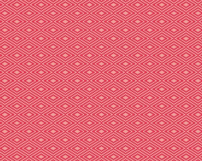 Riley Blake Fabric - Vintage Day Dream -   Aztec Red Cotton Woven Fabric