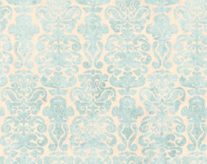 Quilting Treasures - My Story Licensed Santoro - Light Blue Brocade 27144-B - Cotton Woven Fabric