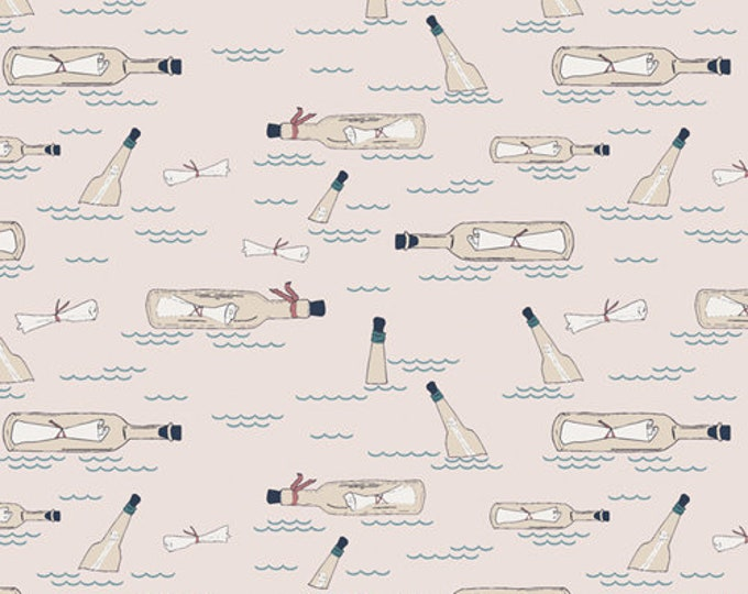 Art Gallery Fabrics - Enchanted Voyage by Maureen Cracknell - Ocean Notes ENV-71788 - Cotton Woven Fabric