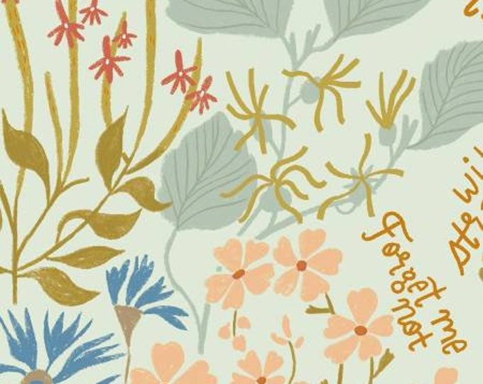 Dear Stella - Camp Wanderer - Wildflowers Multi -  by Rae Ritchie Cotton Woven Fabric