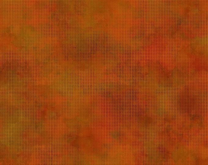 In the Beginning Fabrics - Dit Dot Evolution by Jason Yenter - Pumpkin 1dde_14 Cotton Woven Fabric