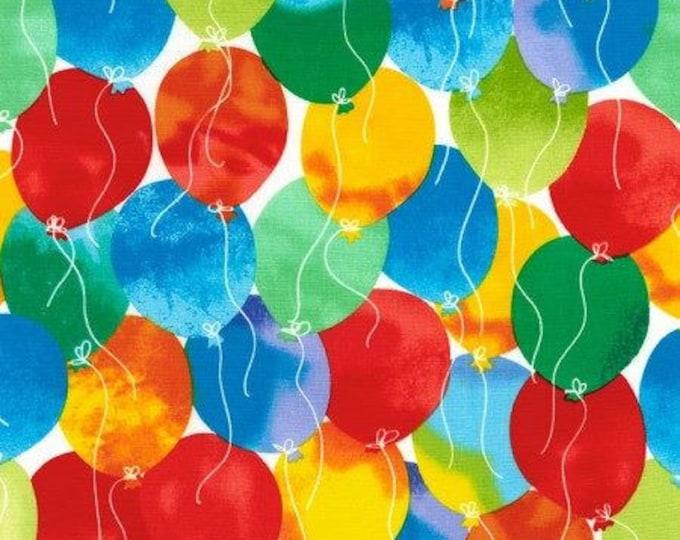 TImeless Treasures - Rainbow Balloons Cotton Woven Fabric