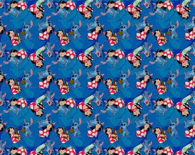 Disney Lilo & Stitch Friends Forever Cotton Woven