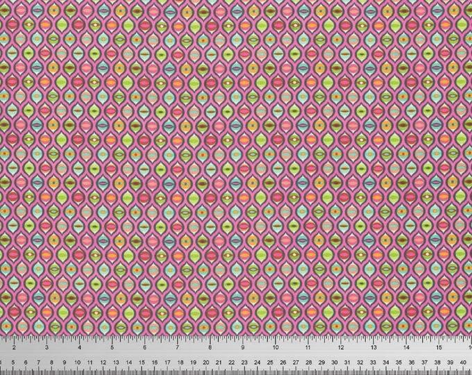 Tula Pink - Tabby Road - Cat Eyes Marmalade Skies Cotton Woven Fabric