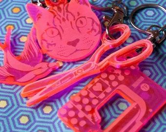 Notion - Tula Pink Keychain Set