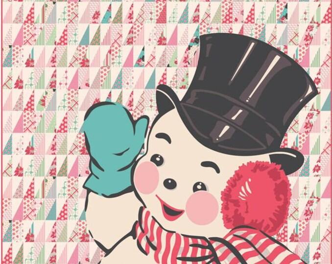 "Quilt Kit -Moda Fabrics - Sweet Christmas by Urban Chiks - Sweet Christmas Kit - 60"" x 72"" #KIT31150 Cotton Woven Fabric"