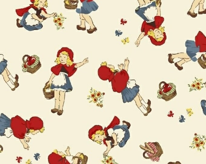 Little Red Riding Hood, 50298-1,  Cotton Woven fabric